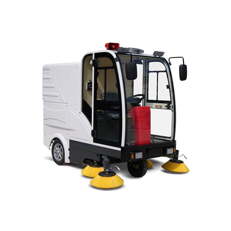 如何选购质量好的智能式电动扫地车